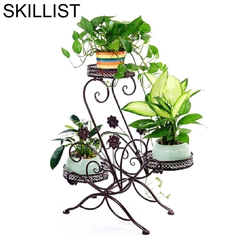 Metal Raflar Decoracion Exterior Exterieur Decoration Terrasse Balkon Flower Balcony Balcon Plant Shelf