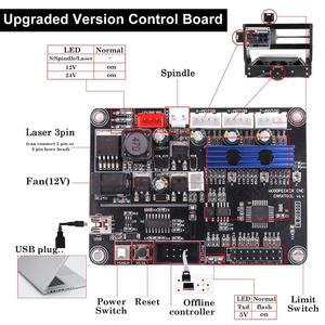 Image 4 - CNC 3018 Pro Max ER11 лазерный гравер PCB фрезерный станок с ЧПУ гравировальный станок GRBL с 15 Вт DIY Лазерный Станок
