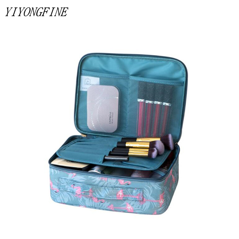 High Quality Tote Cosmetic Bags For Women Toiletries Organizer Makeup Bag Waterproof Beauty Bag neceser Travel Make Up Cases