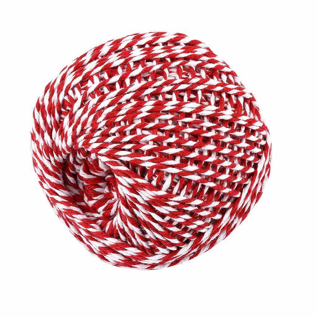 30 # خيط قطني حبل ريفي البلد الحرف اليدوية الاكسسوارات مكرامية القطن حبل القطن الطبيعي الزفاف الديكور