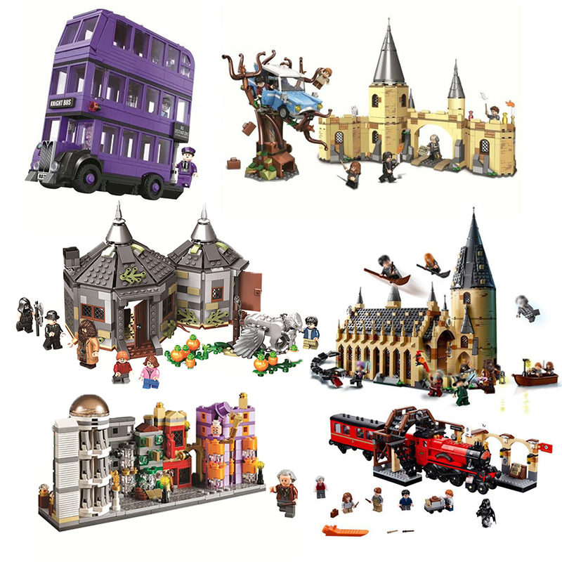 Harri Movie School Of Witchcraft And Wizardry Castle Building Block Compatible With Block 75945 75946 75957 75958 75965 Gifts