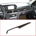 ABS углеродное волокно Автомобильная центральная консоль для салона Защитная панель накладка для Mercedes Benz C Class W204 2010-2013 аксессуар