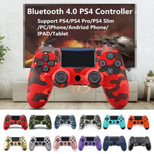 Wireless PS4 Controller DualShock 4 Gamepad Bluetooth 4.0 Joystick For PS4 Console Playstation 4 PS3 PC Laptop Mobile Phone IPAD