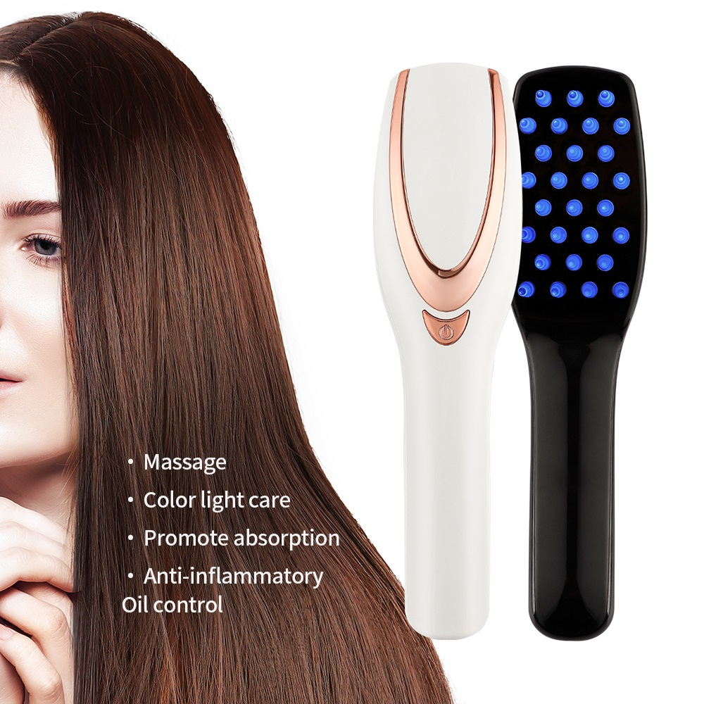 Laser Electric Massage Comb Hair Growth Care Anti Hair Loss Hair  Regrowth Treatment  Vibration Head Massage Comb Massager