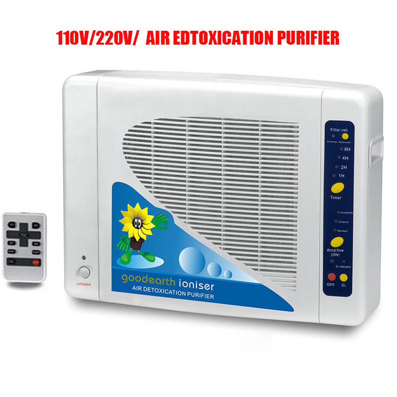Home And Office Air Purifier GL-2108 Air Purifier With Negative Ion And Ozone Air Cleaning Filter