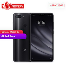 Global Rom Xiaomi Mi 8 Lite 4GB 128GB Snapdragon 660 AIE Octa Core 6.26 Inch 1080P Smartphone MIUI IR Face ID Dual Camera 24MP(China)