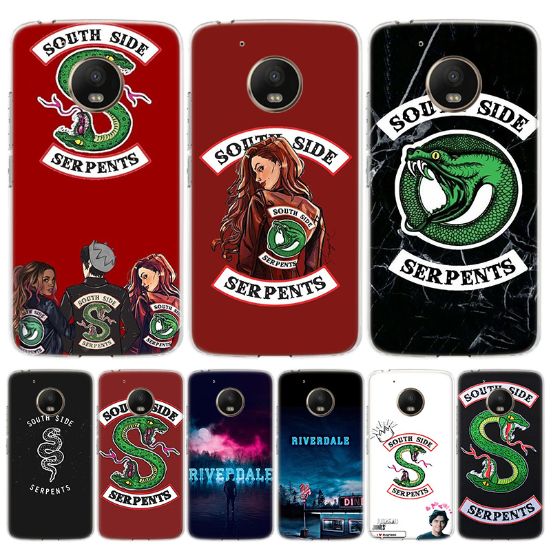 American TV Riverdale Phone Case For Motorola Moto G7 G8 G6 G5S G5 E6 E5 E4 Plus Power G4 One Action X4 EU Gift Coque Cover