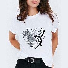 T-shirts das mulheres do outono 90s tumblr das mulheres camisetas das senhoras do sexo feminino t