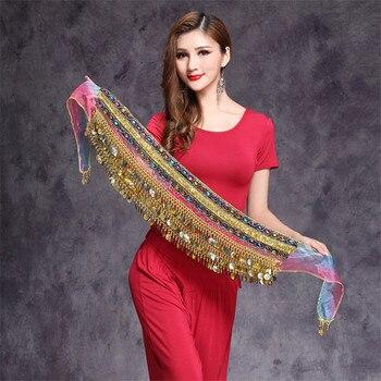 Accesorios de la bufanda de la cadera de la danza del vientre bufanda de la cadera de la bailarina India bufanda cuentas y moned nicky persico la danza de las sombras