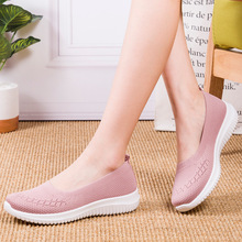 2020 New Women Sneakers Spring Autumn Flats Shoes Fashion Loafers Casual Shoes Woman Breathable Shallow Soft Bottom Ladies Shoes fashion new casual flats women soft genuine leather shoes autumn spring loafers woman wo1808112