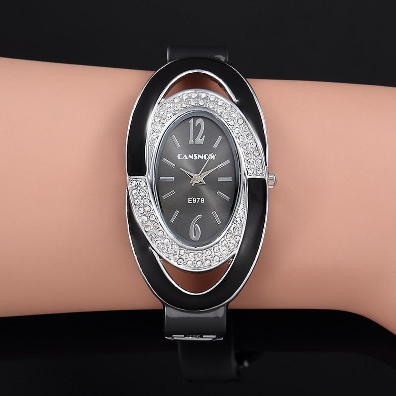 2020 Fashion Women Steel Casual Watch Luxury Analog Quartz Crystal Wristwatch Fashion Dress Female Wristwatch Relogio Feminino
