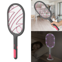 Electric Insect Racket Swatter Zapper USB 1200mAh Rechargeable Mosquito Swatter Kill