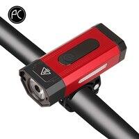 Pcycling 自転車ライト 800 ルーメン mtb ロードバイクハイライト usb 充電 IPX6 防水 led フロントライトアルミ合金ミニランプ