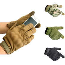 Men's Cycling Gloves Touch Screen Full Finger Hunting Tactical Gloves Water Resistant Windproof Warm Anti-Slip Bicycle Gloves цена