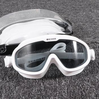 1Pc okulary przeciwmgielne gogle pływackie gogle pływackie gogle pływackie gogle pływackie gogle pływackie na basen basen na zewnątrz tanie i dobre opinie
