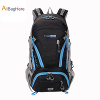 Functional 45L Waterproof Nylon Hiking Backpacks Trekking Climbing Tactical Travel Backpack Outdoor Sport Rucksack Bag Men Women