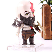 God of War Figure Kratos Nendoroid 925 Q Ver. Anime God of War Kratos Action Figure PVC Collection Model Toy Dolls(China)