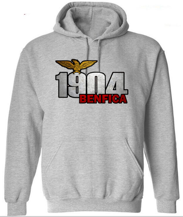 Sweatshirts New Arrival Man's Clothing Fashion Hoodies BENFICA 1904 Printed Casual Street Style 2020