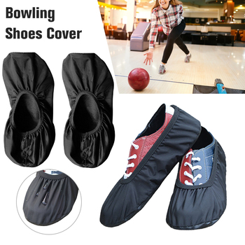 1 PCS Premium Bowling Sports Shoe Covers Shoes Covers For Shoe Dust Proof Washable Reusable Flat Ankle Elastic Boot Cover image