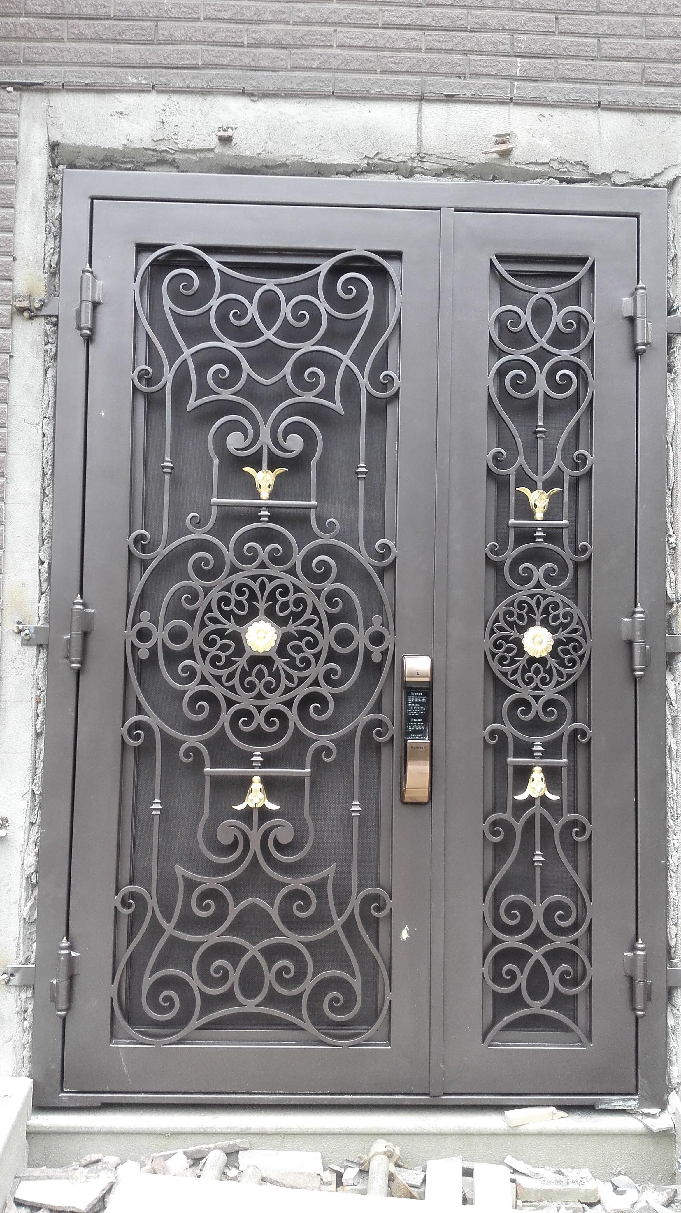 Shanghai Hench Brand China Factory 100% Custom Made Sale Australia Steel Gate Front Door