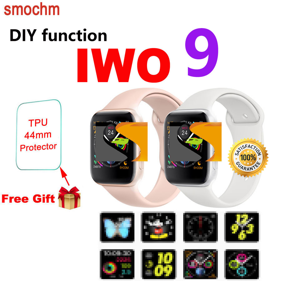 Free ship Breathable holes silicone sports band IWO 2 MTK2502C 2nd IWO 1:1 Bluetooth Smart Watch for ios/ Andriod Smartphones ethernet cable