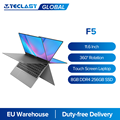 Teclast F5 11.6 ''Touch Screen Laptop 8GB DDR4 256GB SSD Windows 10 Notebook Intel N4100 1920X1080 IPS typ-C 360 Flip & Falten PC