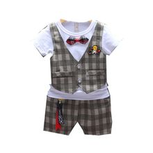 New Kids Fashion Boys Clothing Summer Baby Girl Clothes Suit Children Cotton T Shirt Shorts 2Pcs/sets Toddler Casual Tracksuits