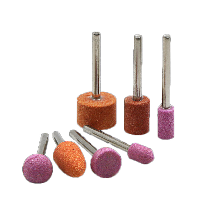 7Pc  Abrasive Mounted Stone For Dremel Rotary Tools Grinding Stone Wheel Head Dremel Tools Accessories