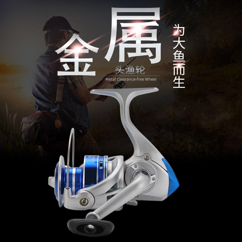 Comay Dragon Fishing Gear Metal Head Fishing Wheel Fishing Reel Raft Wheel Road Sub Rock Fishing Spinning Wheel(China)