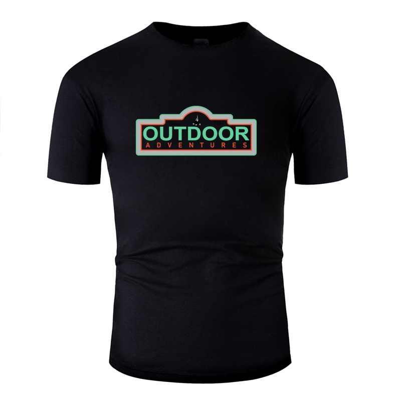 Disegno Grande Bushcraft Logo Per Tutti Coloro Che Amano Avventura T Degli Uomini Della Camicia Donne Naturali T Camicette O-Collo Maschile