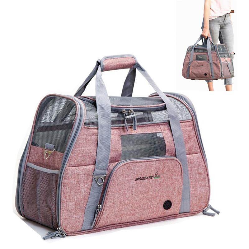 Переноска для собак, переноска для путешествий, переноска для домашних животных, портативный рюкзак, дышащая клетка для кошек, дышащая дорожная сумка для маленьких собак, утвержденная в самолете|Переноски для собак|   | АлиЭкспресс