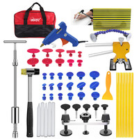 Car Body Paintless Dent Repair Removal Tools Auto Dent Puller Kit Automotive Door Ding Dent Silde Hammer Glue Puller