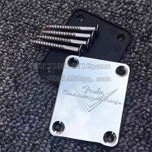 Хром F шеи пластины Custom Shop для St/tele электрогитары и бас части музыкального инструмента