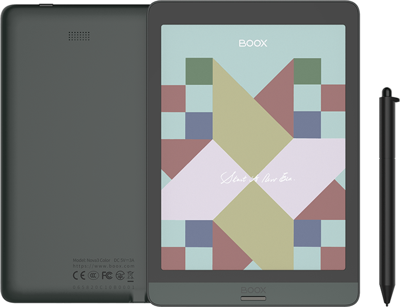 Boox nova3 цвет 7,8