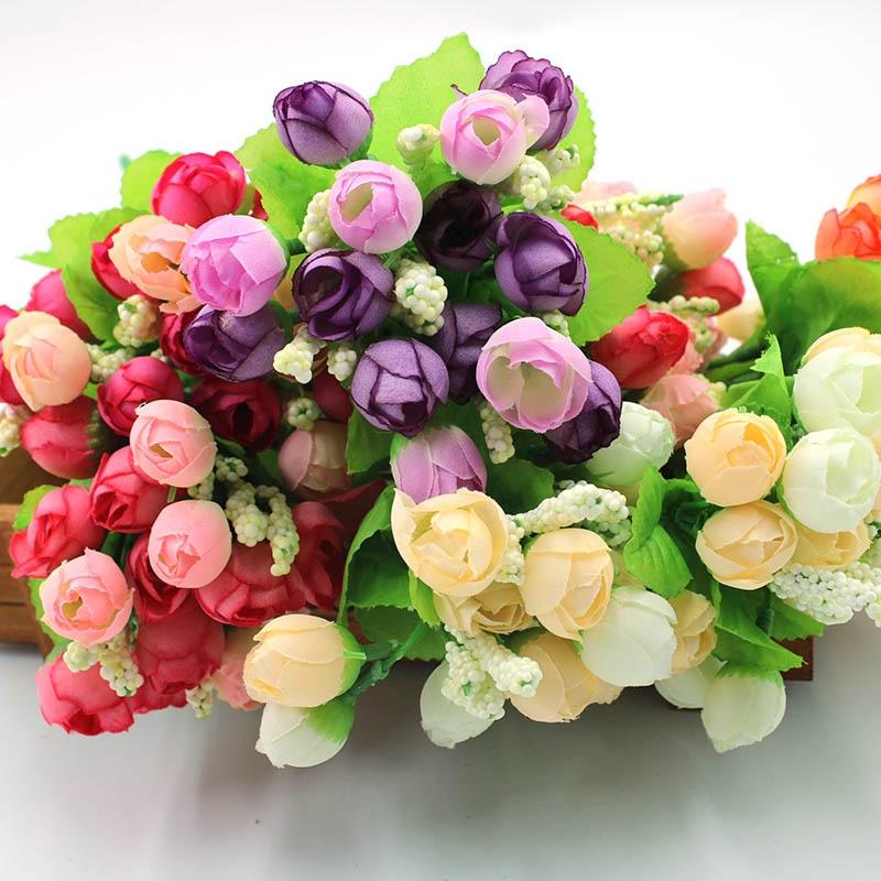 1 Buatan Bunga Simulasi Mawar Kuncup Palsu Musim Semi Bunga Bintang Reuni Keluarga Pernikahan Dekorasi Tanaman Pot Tanaman 15 Buatan Bunga Kering Aliexpress