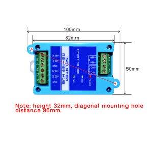 Image 4 - 485 repeater izolacja fotoelektryczna klasy przemysłowej RS485 hub 2 port wzmacniacz sygnału zwalczania zakłóceń ochrony odgromowej