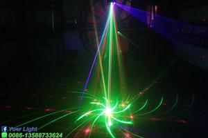 Image 5 - 36W RGB 3IN1 Strobe לייזר סורק מקרן DMX512 שלב תאורת אפקט DJ דיסקו בר מסיבת חג ריקוד חג המולד אורות