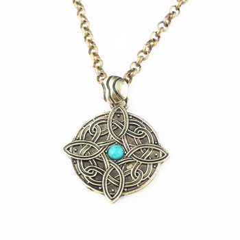The Elder Scrolls 5 Amulet of Mara Arkay Morrowind Pendants Necklaces Dark Brotherhood Dinosaur Triangle Men Jewelry image