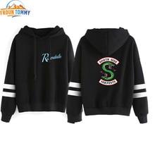 2019 Riverdale Hooded Sweatshirts South Side งูขายร้อน Hoodie Riverdale ผู้หญิงแขนยาวเสื้อกันหนาว Hoodie Casual เสื้อผ้า