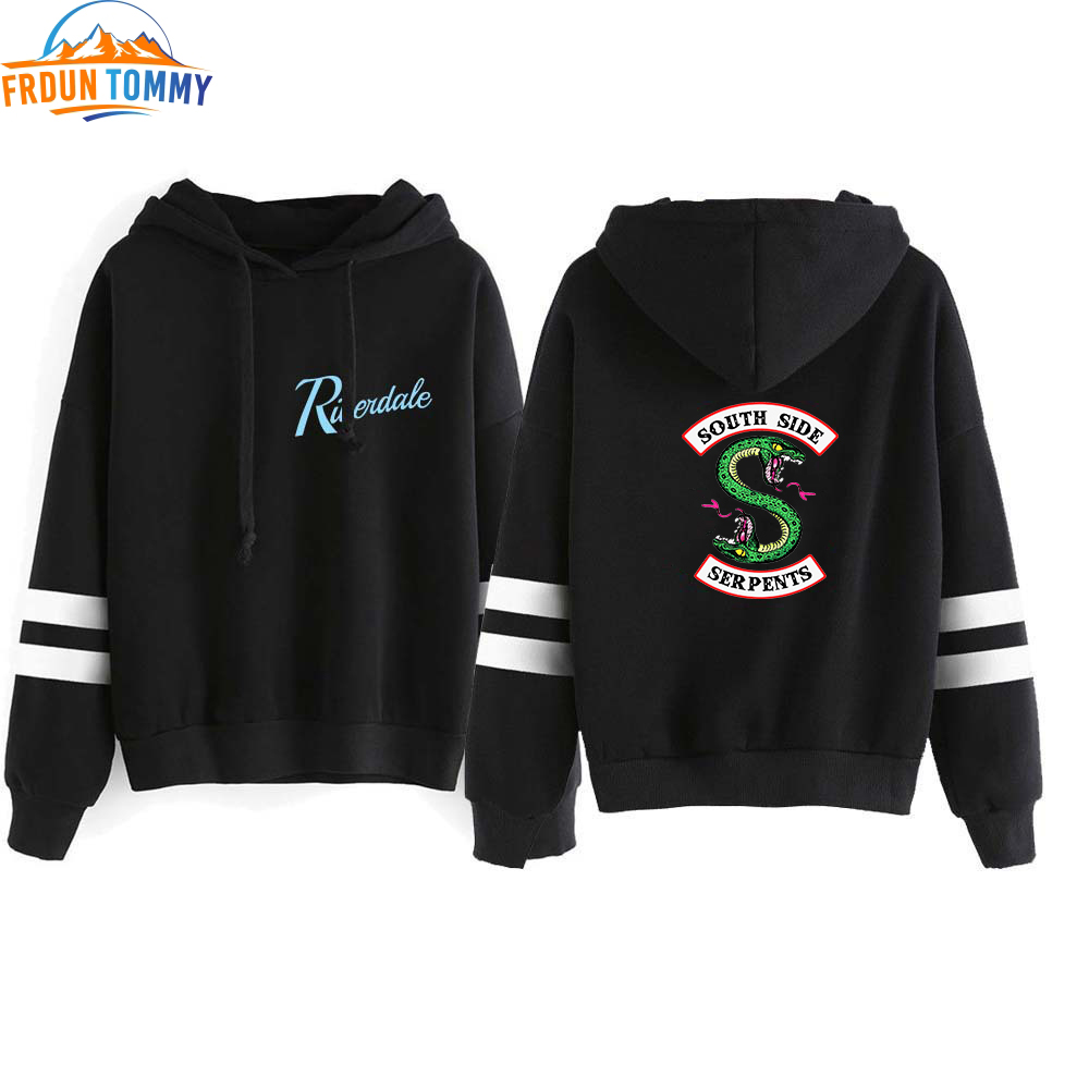 2019 Riverdale Hooded Sweatshirts South Side Serpents Hot Sale Hoodie Riverdale Women Long Sleeve Pullover Hoodie Casual Clothes