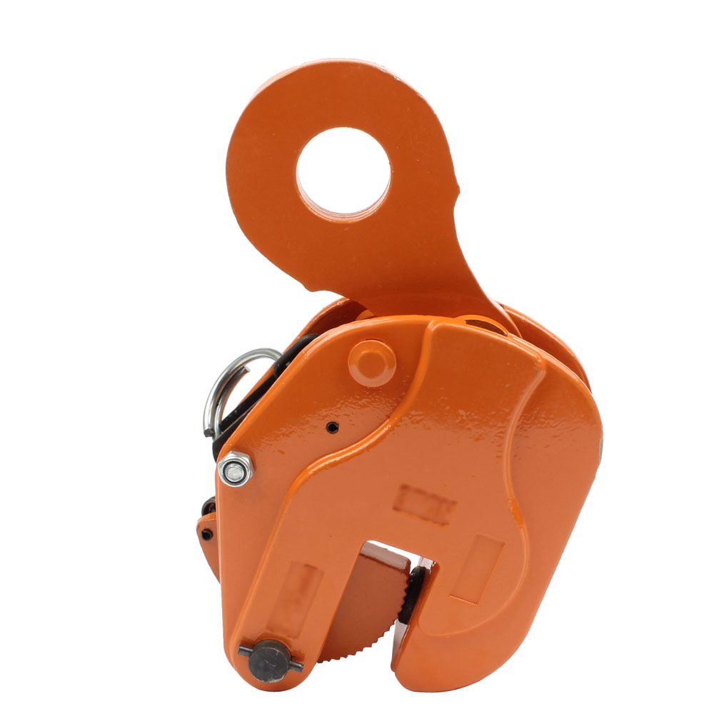 Vertical Lifting Heavy Clamp 1T 2T 1ton 2tons Vertical Plate Lifting Clamp Lifting Hook Hanging Clamp Plate Clip