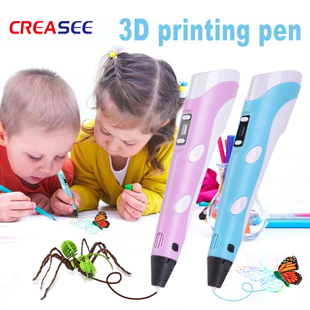 Second generation 3d printing pen three dimensional painting DIY handmade children's educational toys 3D Pen Children'S Day Gift 3D Pens     - title=