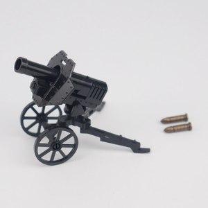 Image 5 - צבאי Solider ערכות דגם צעצוע לילדים אבני בניין צעצועים ותחביבים WW2 ילדים מקלעי נשק צבאי צבא