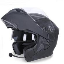 NEW JIEKAI Flip Up Motorcycle helmets Double lens face Motor bike JK902 Bluetoot