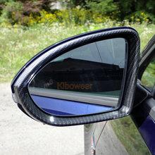 Para lusterko boczne obudowa rama (węgla wygląd) dla VW Golf 7 MK7 7 5 R GTI GTD wymiana 2015 2016 2017 2018 2019 wykończenia tanie tanio kibowear 15cm 2013 2014 2015 2016 2017 2018 MK7SYK 23cm Lustro i pokrowce 1 1 replacement 0 4kg