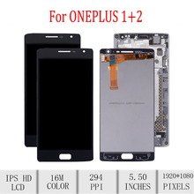 Original For Oneplus 2 LCD Display Touch Screen Digitizer For Oneplus 2 Display with Frame Replacement A2001 A2003 A2005 Screen цена в Москве и Питере