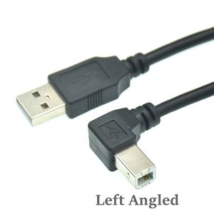 Image 5 - Type A Male to Type B Male 90 degree Up & Down & Left & Right Angled USB 2.0 Printer Scanner Cable 30cm 50cm 150cm 1ft 5 feet