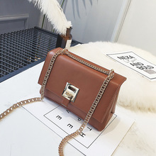 luxury handbags bags for women 2019New style cross-body bag I simple fashion PU European and American chain single shoulder