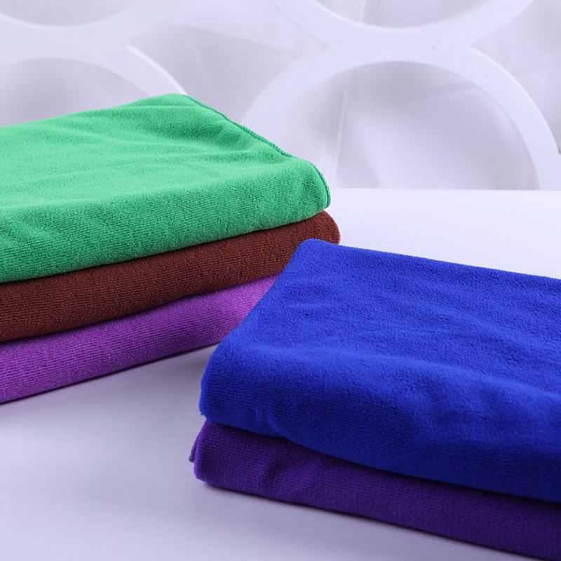 DIDIHOU 30 × 70 センチメートルスモールポリエステル吸収ハンドタオルマイクロファイバータオル速乾性のバスタオル浴室キッチンタオル用品