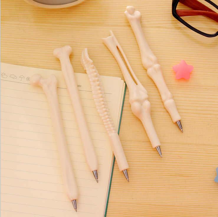 1pcs Kawaii 뼈 페인트 브러시 다른 모양 라운드 지적 팁 잉크 펜 그림 브러쉬 세트 미술 용품